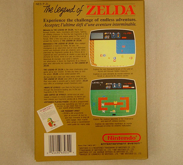 The Legend of Zelda Nes