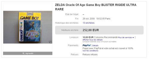 Fin de l'enchère à 252€