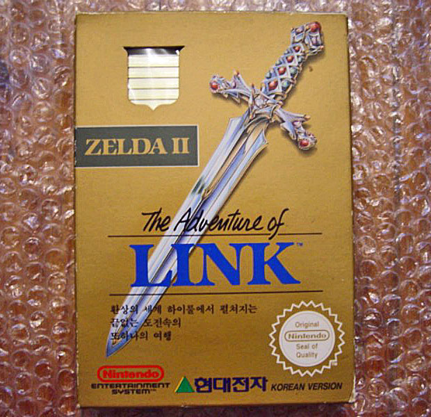 The Adventure of LINK korean version