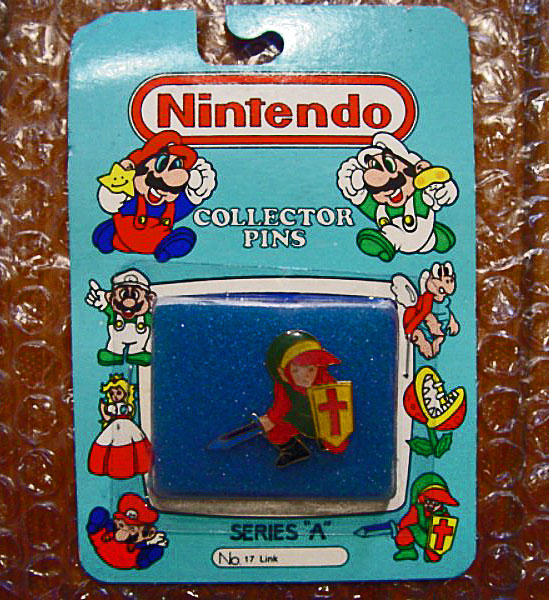 "Collector Pins Nintendo of America (1989) Serie ""A"" n°17: Link"