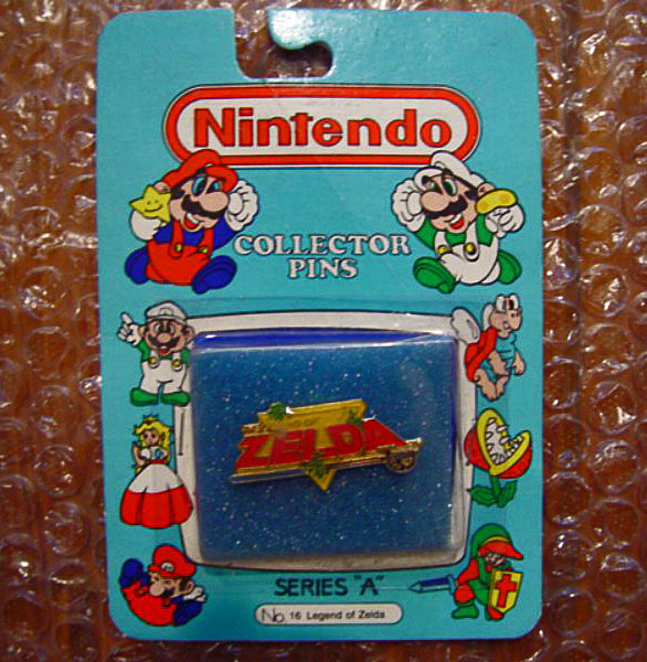 "Collector Pins Nintendo of America (1989) Serie ""A"" n°16: Legend of Zelda"