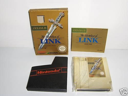 Photo de l'annonce ebay du Zelda Coréen