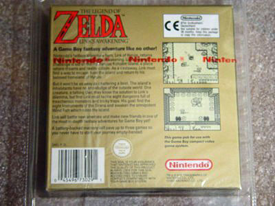 Link's awakening UK sealed