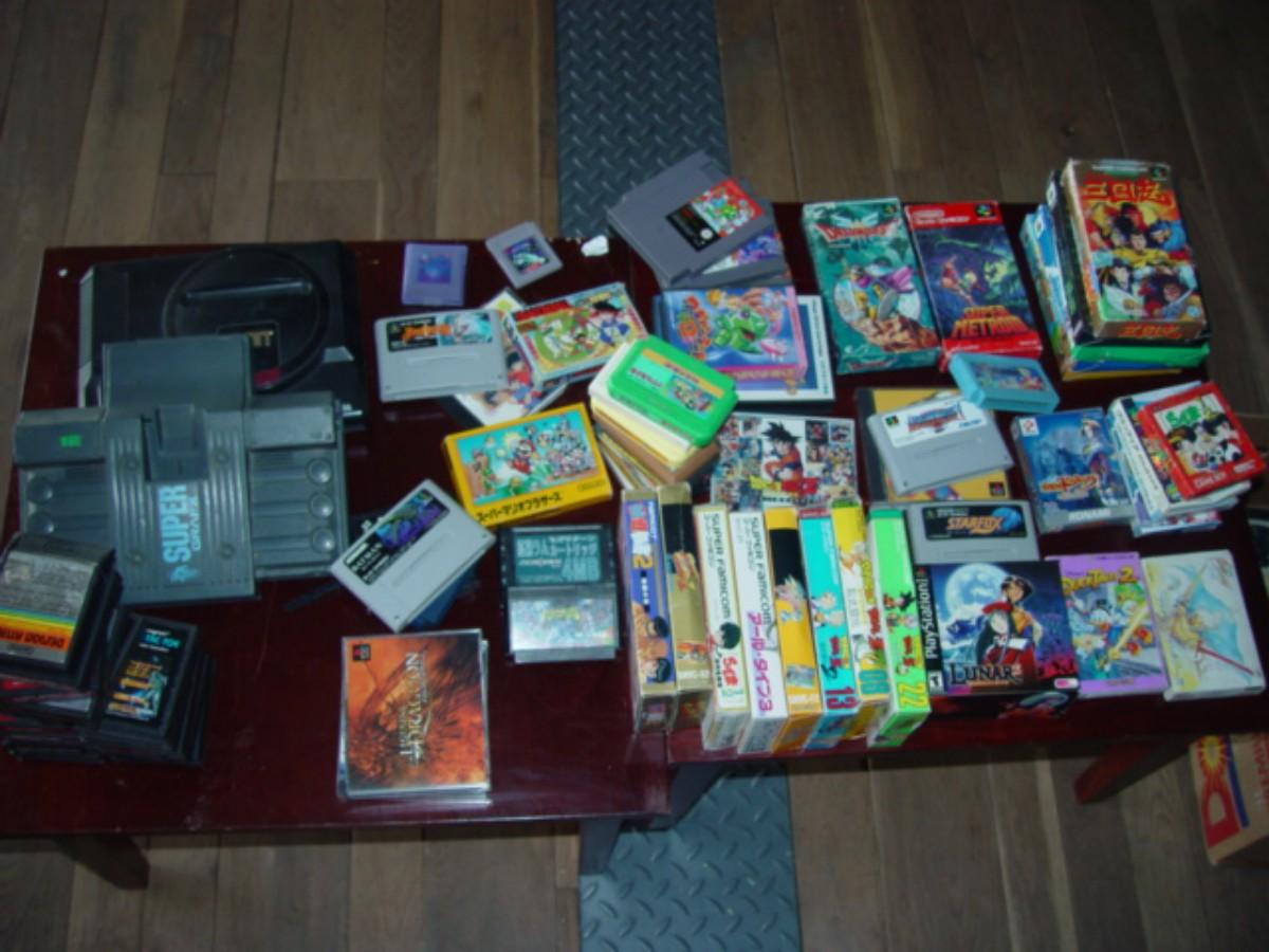 Caisse de jeux japonais
