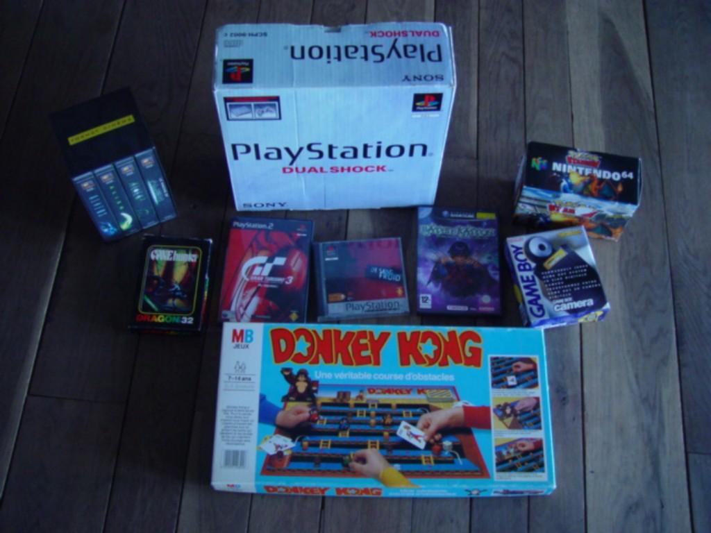 Playstation, Batten Kaitos, Jeu de société Donkey Kong, Game Boy Caméra