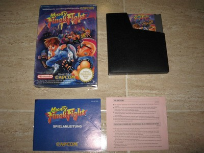 Mighty Final Fight PAL complet (allemand)