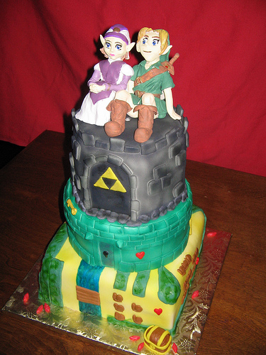 The legend of Zelda Cake
