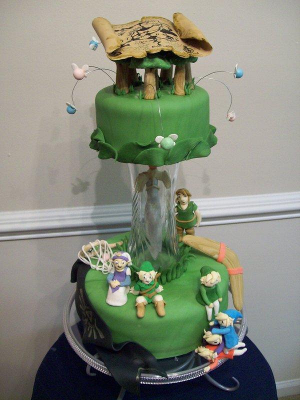 Zelda Cake Topper