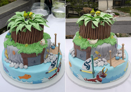 Zelda The Wind Waker Cake
