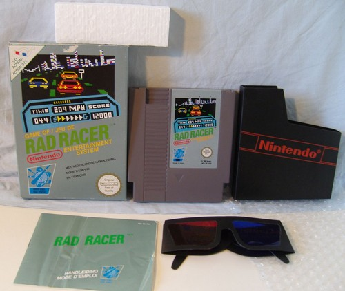 Rad Racer Pal FR complet (lunettes 3D)