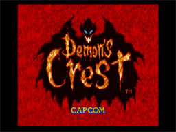 Demon's Crest - CAPCOM