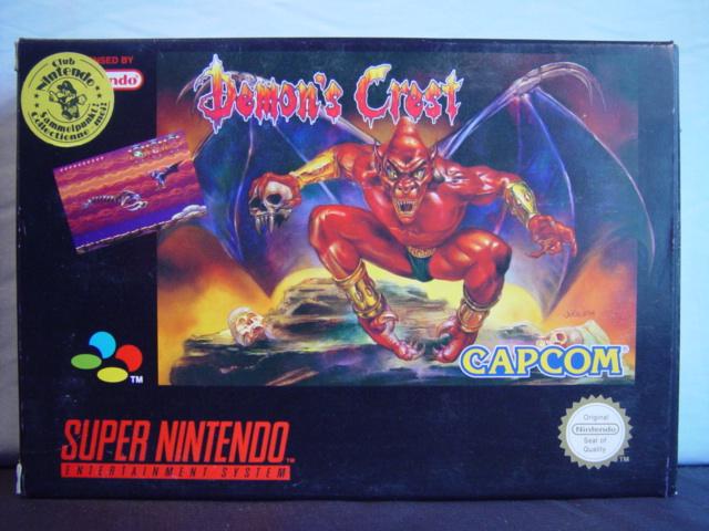 Demon's Crest sur Super Nes 1