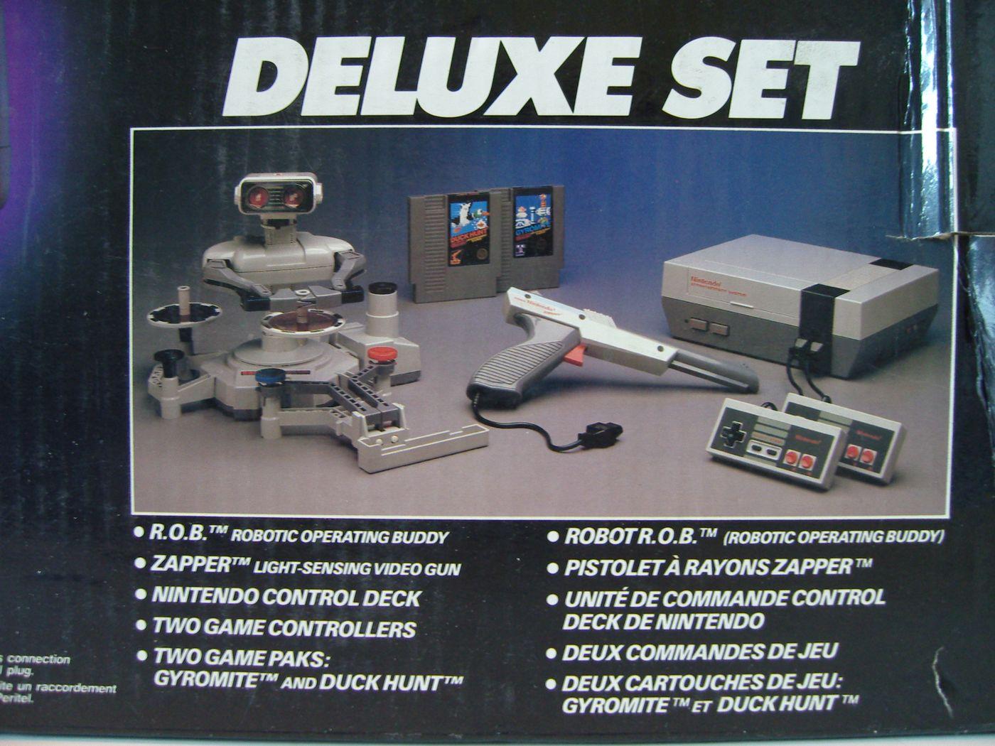 Nintendo Nes Deluxe Set