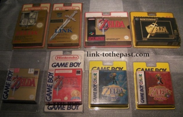 link-tothepast collection Zeldablistercollection
