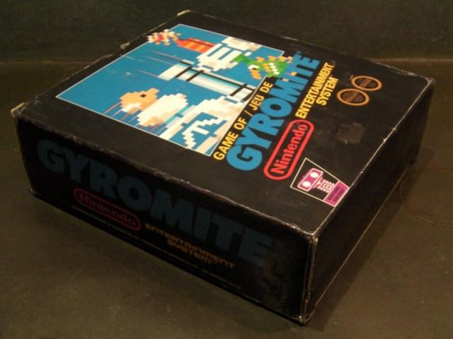 Coffret Gyromite Nintendo Nes