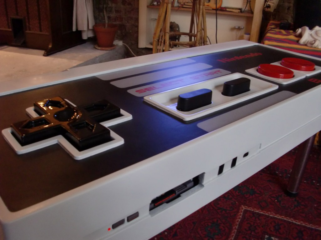 Table basse Manette Nintendo Nes