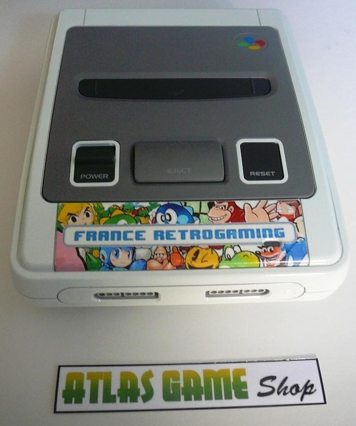 SNES France Retrogaming by Atlas Game Shop