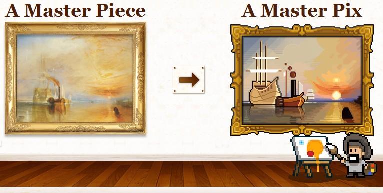 [Pixel Art] Master-pix.com: A Master Piece, A Master Pix 1