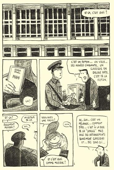 extrait BD Pyongyang de Guy Delisle