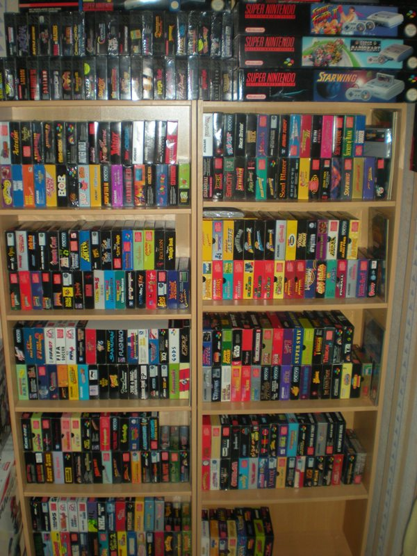 Collection Super Nintendo