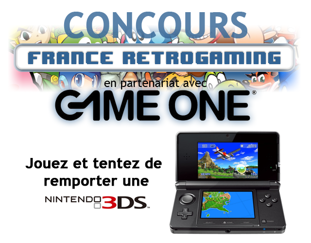 concours France Retrogaming Game One