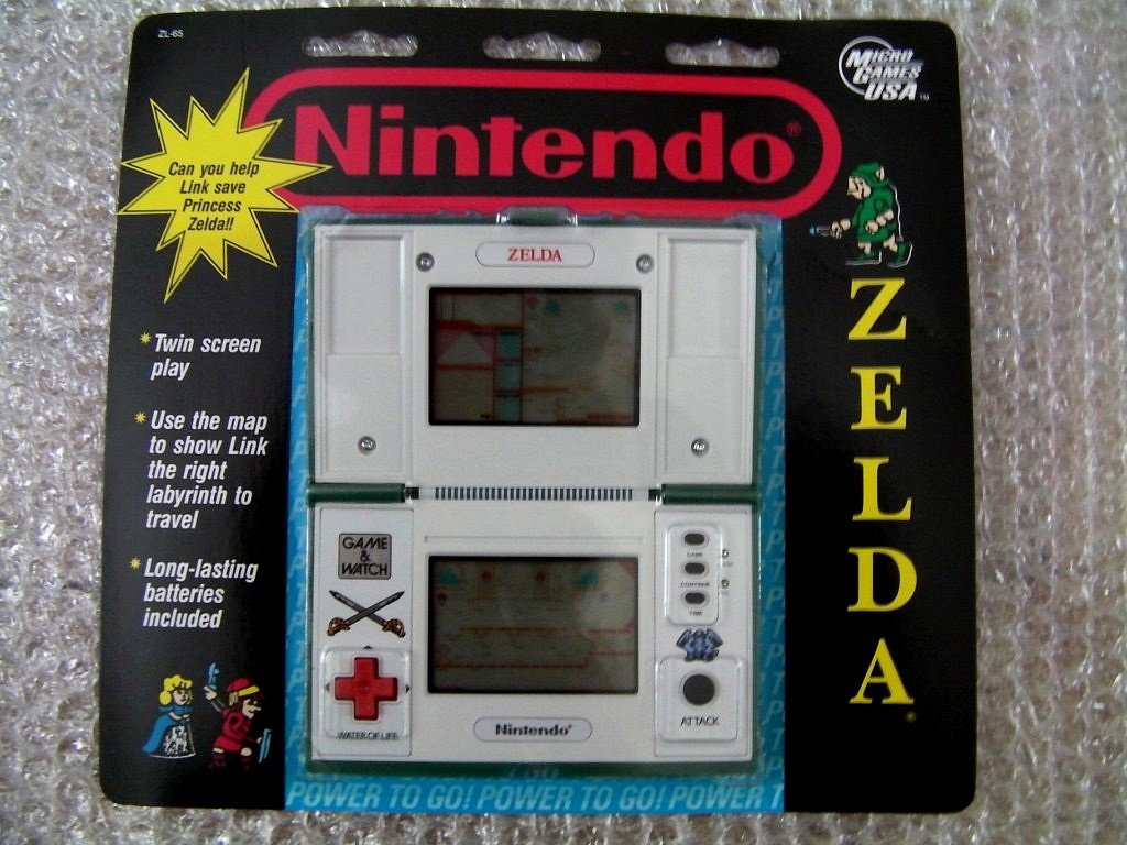 [ARRIVAGE] Game and Watch Zelda sous blister 1