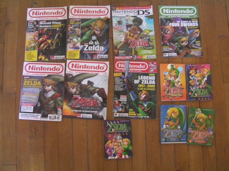 magazines et mangas Zelda