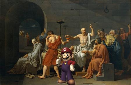 La Mort de Socrate Mario