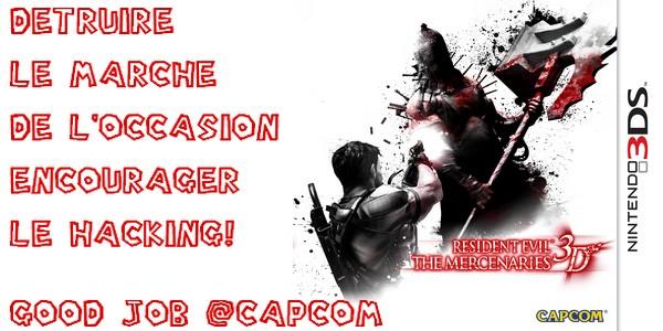 Resident Evil The Mercenaries 3DS: CAPCOM vérrouille les sauvegardes 8