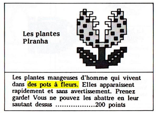 Les tuyaux sont en fait des pots de fleurs
