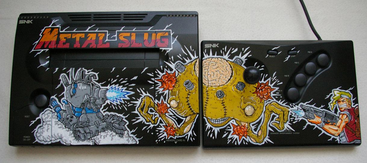 Neo Geo custom Metal Slug