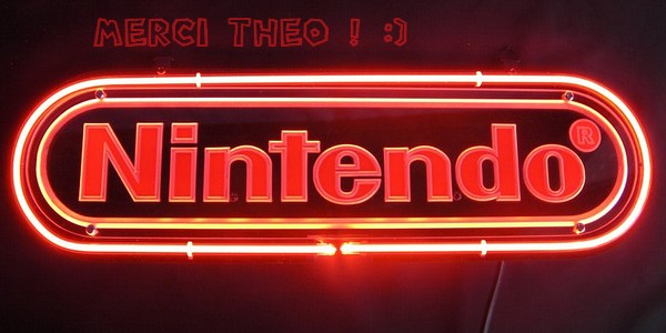 [CADEAU] Un néon Nintendo 2
