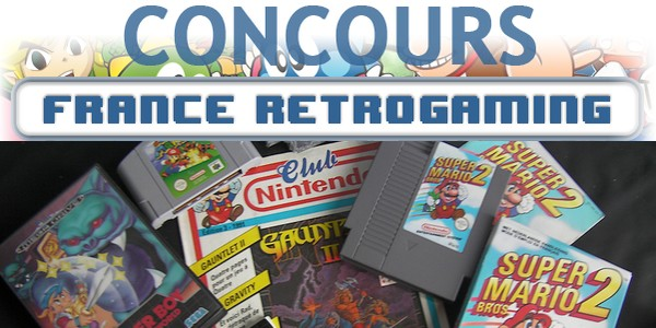Concours France Retrogaming