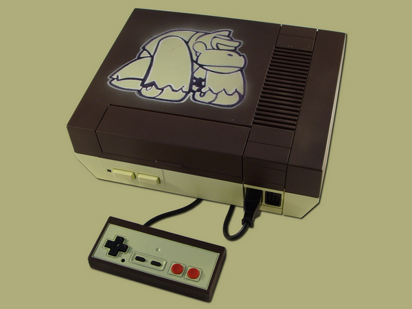 Nintendo Nes custom Donkey Kong
