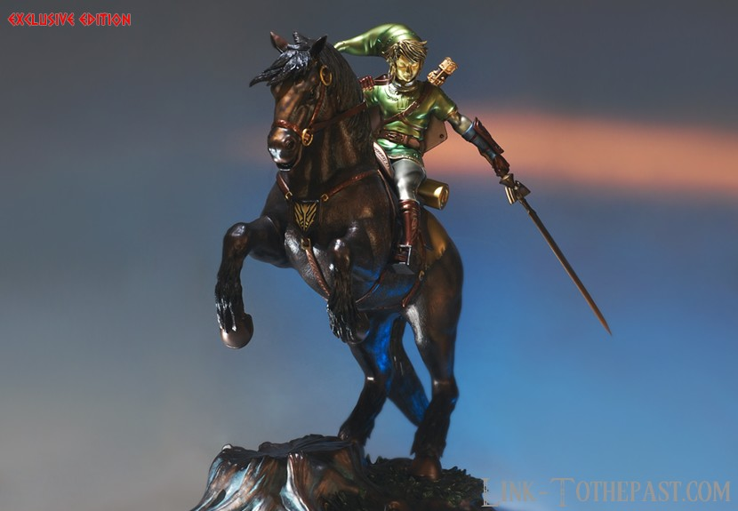 Statue F4F Link on Epona version Exclusive