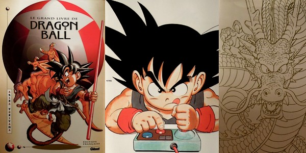 Le Grand livre de Dragon Ball : illustrations de Akira Toriyama entre 1984 et 1995 3