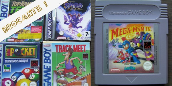 [BROCANTE] Quelques jeux Game Boy complets et un kit de presse Wipeout HD 7