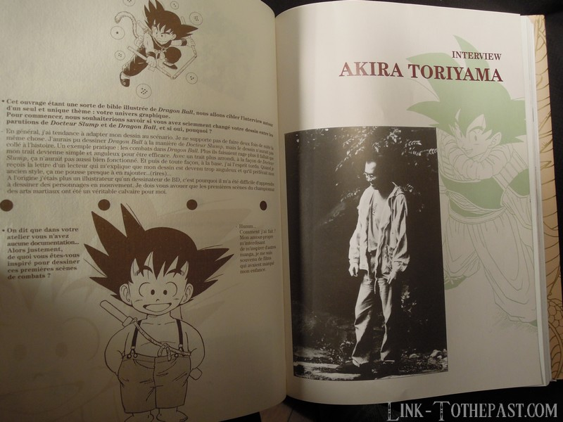 Le Grand Livre de Dragon Ball : Interview de Ahira Toriyama