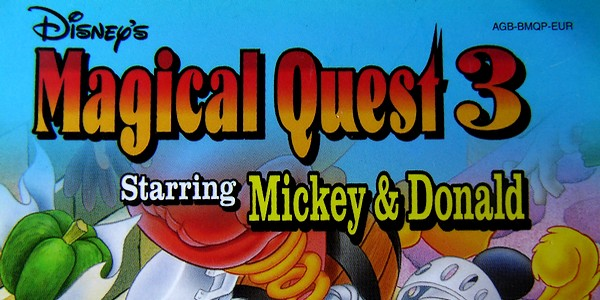 [TEST GBA] Magical Quest 3 starring Mickey & Donald 6