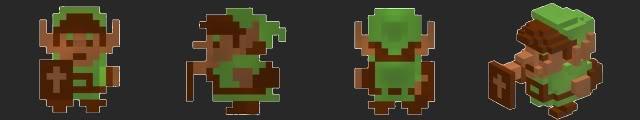 Link-3d-dot-game-heroes