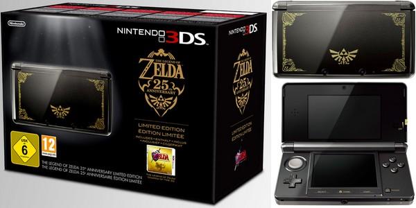 Console Nintendo 3DS édition limitée Zelda 6