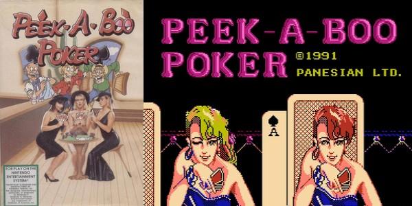 Peek-a-boo Poker : un jeu de Strip-Poker pixelisé sur Nintendo Nes 3
