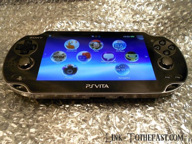 Arrivage d ballage et test rapide de la playstation vita - Ps vita test de la console ...