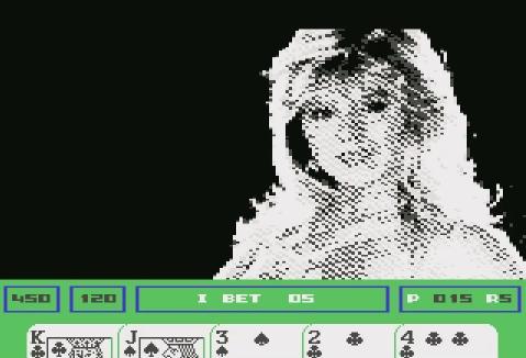 Samantha Fox Strip Poker C64