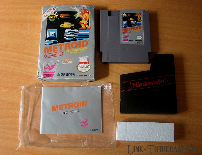 Metroid Nes Korean Version