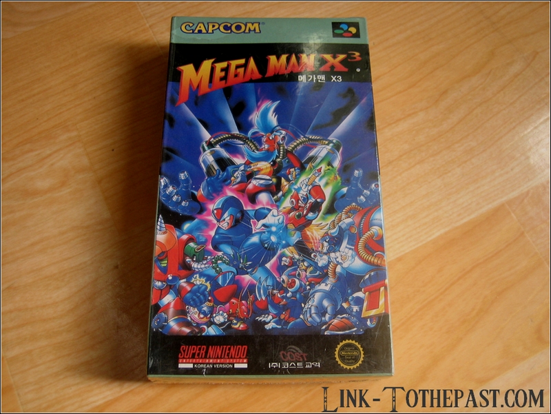 Megaman X3 Korean Version