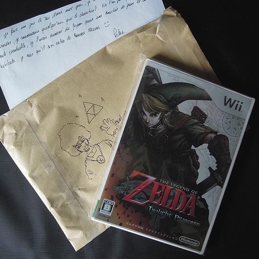 [CADEAU] Zelda Twilight Princess Wii version japonaise 1