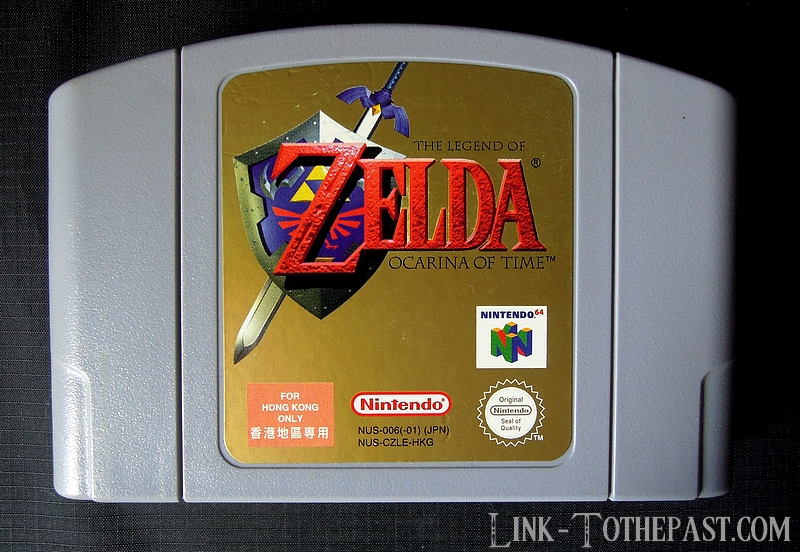 Zelda Ocarina of Time Hong Kong Version
