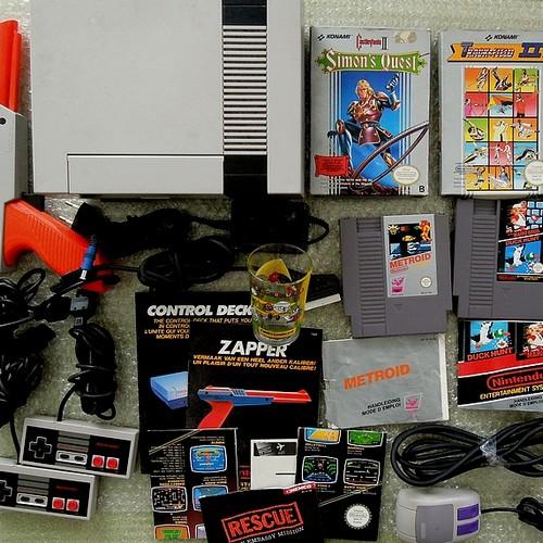 [BROCANTE] Lot Nintendo NES, Magazines Dragon Ball Z, jeux PC, PS1... Un retour chargé 10