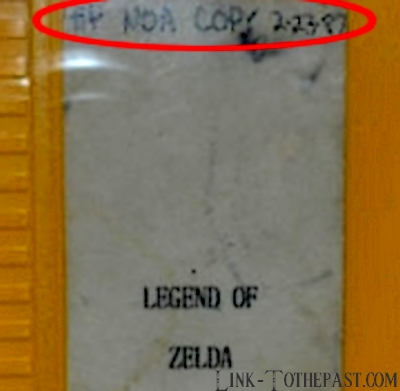 Cartouche prototype du premier Zelda vendue pour 44.500€ 8